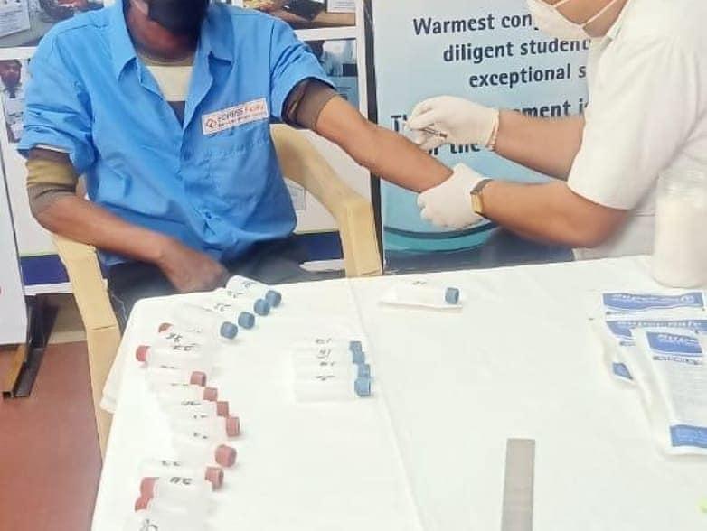 Medical Checkup of Housekeeping Staff