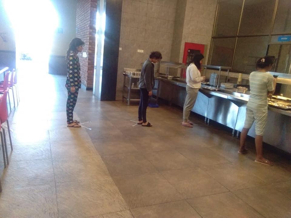 In-Campus Social Distancing